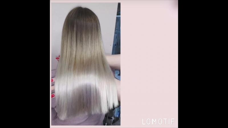 НАНОПЛАСТИКА для блонда с антижелтым эффектом Алиса Белявская СПб