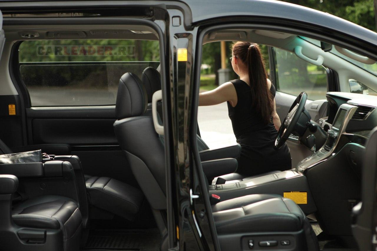 Боковые приводные двери Toyota Alphard
