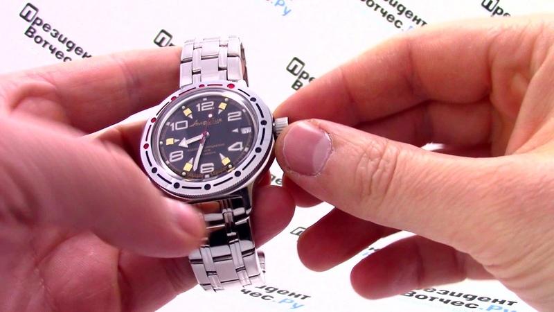 Часы Восток Амфибия 420335 - Видео обзор от PresidentWatches.Ru