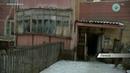 Аварийный дом в микрорайоне Разведчик города Ленска