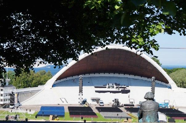 Певческий фестиваль в Эстонии