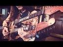 Double Neck, Croc-Skin, Wine-Barrel-Wood, Baritone Hybrid Guitar from Paoletti Guitars!