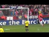 Арсенал - Сандерленд 4:1.Чемпионат Англии,27-й тур.Обзор матча