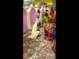 Kangaroo dustbin worshipped in a village in India