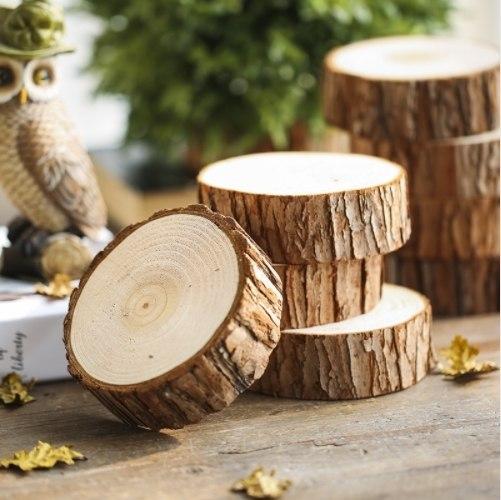 Красивые деревянные подставки -