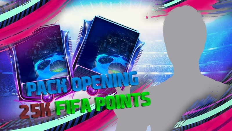 PACK OPENING 25.000 FIFA POINTS / FIFA MOBILE 19
