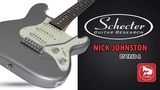 Именная электрогитара SCHECTER NICK JOHNSTON DS TRAD A