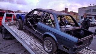 Установка каркаса безопасности в BMW E30