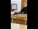 Максимка играется с дисководом