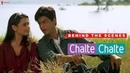 Behind The Scenes Chalte Chalte Rani Mukherji Shah Rukh Khan A Film By Aziz Mirza