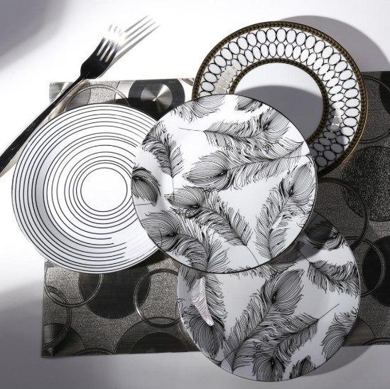 Стильные тарелки -