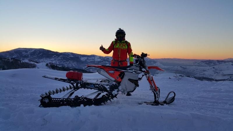 Сноубайк KTM 450 Трак Snowrider 137 (Snowbike EP3) 08122018