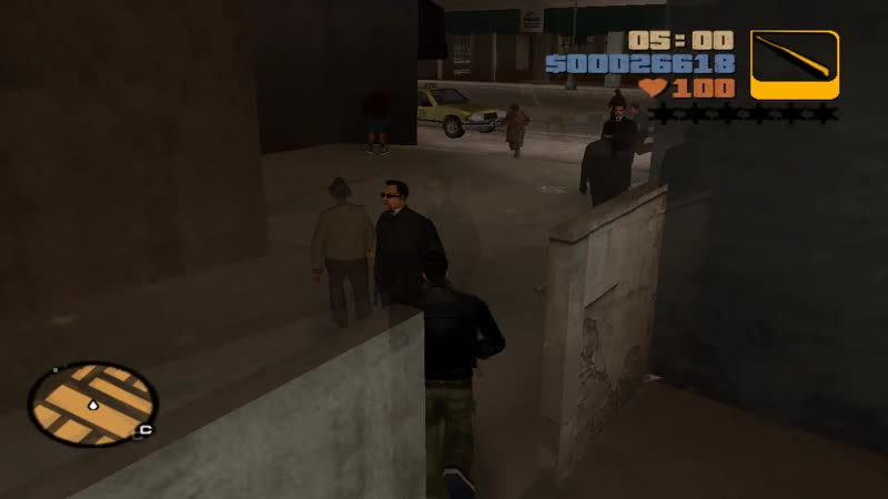 Grand Theft Auto III — 10 'прощай, чанки ли чонг'