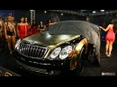 Maybach 57's Gold by Derick G Metro Wrapz Design