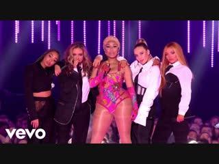 Nicki Minaj Little Mix - Woman Like Me (2018 MTV EMA)