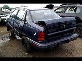 Junkyard Find 1991 Pontiac LeMans LE