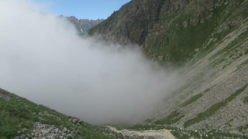 Туман в Теплом Углу.