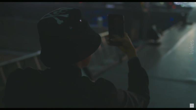 Hoseok's filming tae dancing to begin