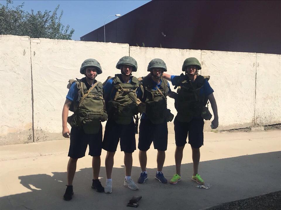 В гостях у десантников