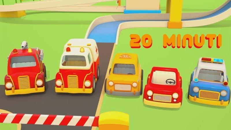 I veicoli da lavoro HELPER CARS Camion e ruspe Cartoni animati Compilation 20 minuti