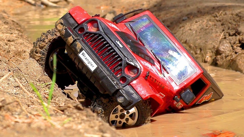 RC Car 4x4 MUD Extreme OFF Road Jeep Wrangler Rubicon MST CFX — Wilimovich