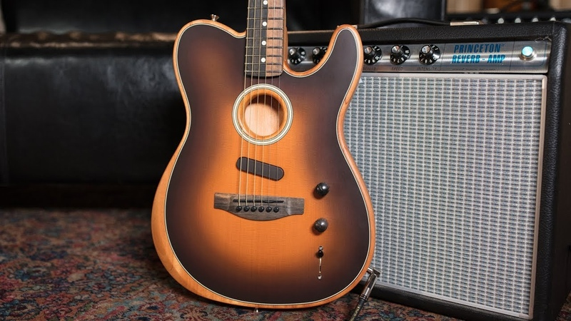 Fender American Acoustasonic Series Telecaster | First Impressions with Todd Wisenbaker