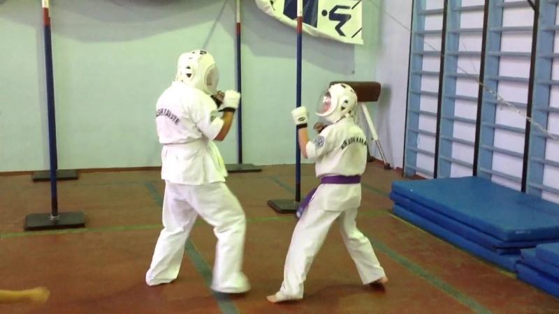 Tsuki Waza (kumite). СергейJ, РоманК.