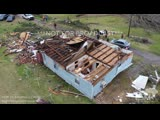 3-15-19 Titus, Alabama - Elmore County - Aerial Tornado Damage Path