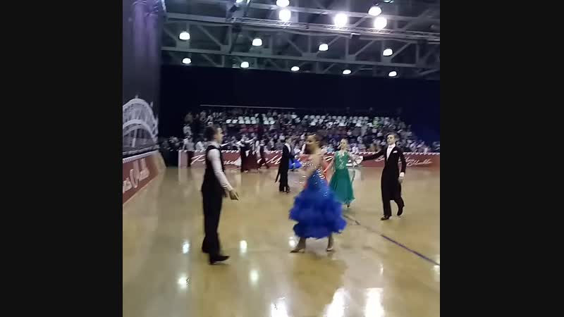 Е КЛАСС Ю 2 Рейтинг федерации Венский вальс15 18