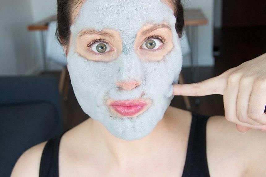 Глиняная маска для лица -