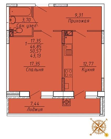 Планировки в ЖК Есенин Рязань
