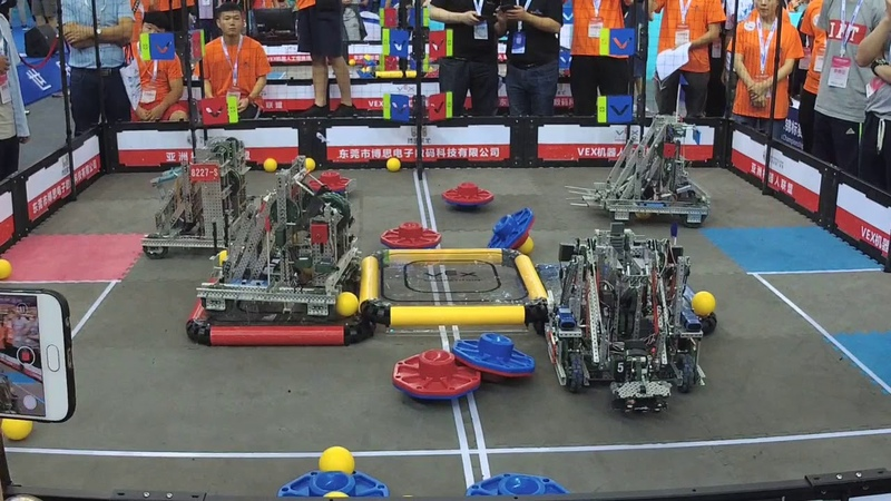 VEX Turning Point China WRC RoboCon Finals | Volume Warning