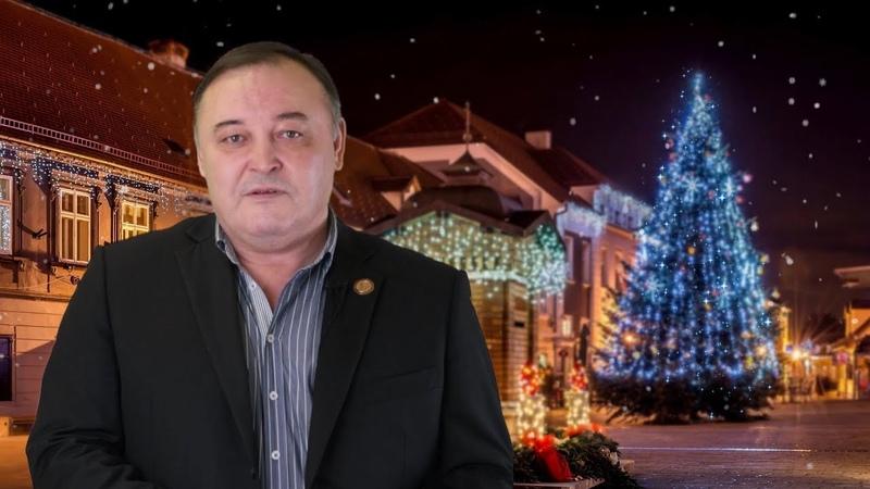 Новогоднее поздравление председателя Исполкома ЧООО Башкирский Курултай Юсупова Мориса Харисовича