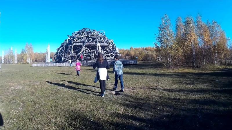 Экскурсия в Арт-парк Никола-Ленивец