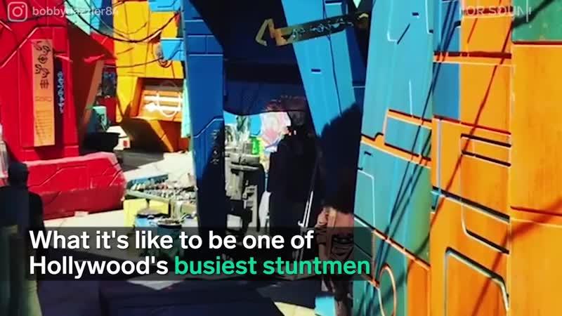 Meet Hollywoods Busiest Stuntman Bobby Hanton