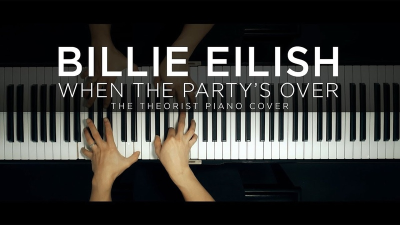 Billie Eilish - when the party's over   The Theorist Piano Cover