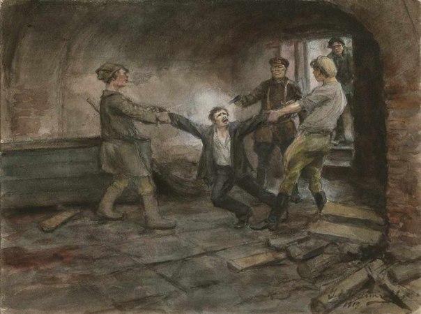 Революция и гражданская война глазами художника WRwI-7I57yU