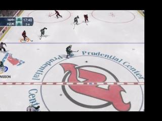 Вторая игра серии Minnesota Wild - New Jersey Devils(1/2).