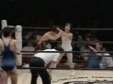 1. Tomoko Watanabe, Yuka Shiina, Yoshiko Tamura, Nobue Endo vs. Chaparrita ASARI, Rie Tamada, Naomi Kato, Misae Watanabe (3.21.1