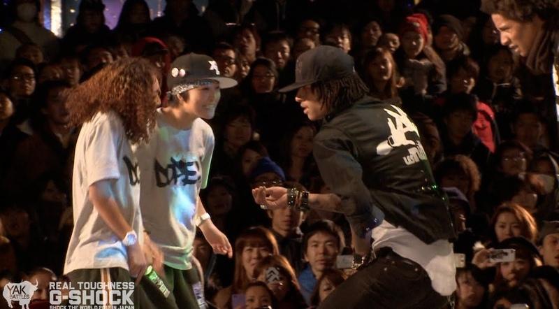 Les Twins vs Rush Ball G-SHOCK REAL TOUGHNESS Japan 2012 | YAK FILMS