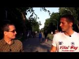 Лидер Воркаут Денис Минин - интервью каналу Виталия Пискуна Time V