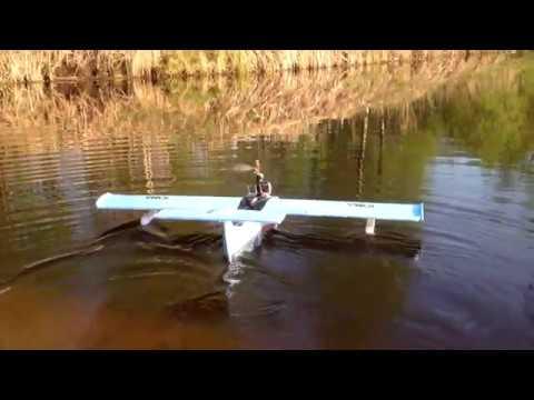 испытания гидросамолёта IONA