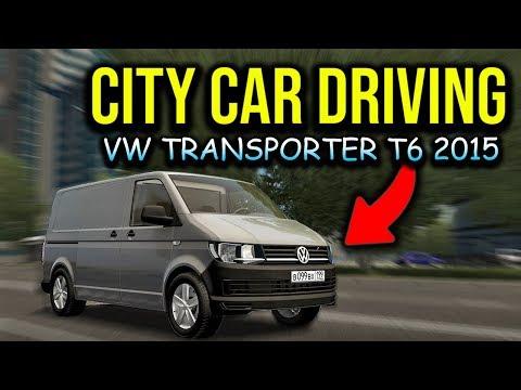 City Car Driving - Volkswagen Transporter T6 2.0 TDI 2015 | Moring Drive | 1080p G27