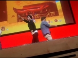 DANCE BREAK - Troy Baker &amp Nolan North MCM Comic Con 2018 2