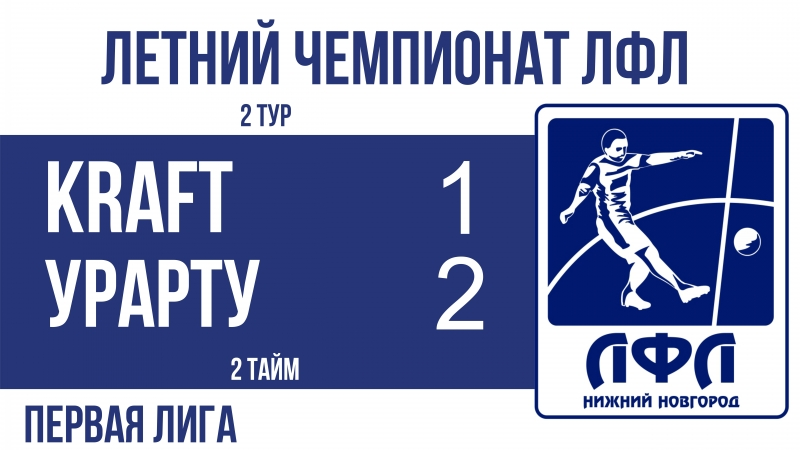 Kraft 1-2 Урарту (2 тайм)