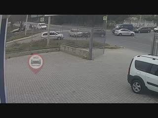 Очередное ДТП Индустриальная - Стахановцев. Севастополь.