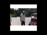 Филипп Киркоров с детьми Мартином и Аллой-Викторией в Ялте, 12.08.17