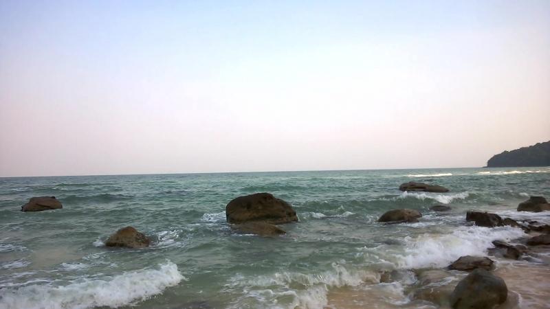 Пляж Бай Сао остров Фукуок Вьетнам