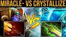 MIRACLE- Tinker vs Crystallize Morphling - Dagon Burst vs EB Shotgun