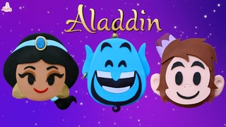 3 EASY Mini Aladdin Cakes Tutorial! | Disney Princess Jasmine, Genie ,Abu